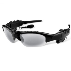 Sport Stereo Wireless Bluetooth 4.1 Headset Telephone Driving Sunglasses Mp3 black one size