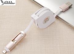 USB Data Cable Universal Android Data Cable for Iphone and Android White