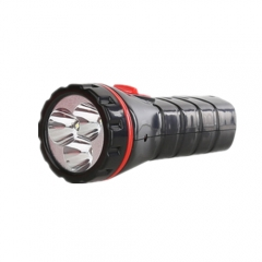 Multi-function Flashlight Rechargeable HandTorch Flash Light Bike Pocket For Hunting Black one size one size
