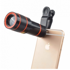 Super Wide Angle Lens with 12.5x Super Macro Lens For Mobile Phone Camera black 2cm black one size