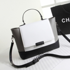 Handbag New Fashion Big Handbag New Design all-match Women's Bag White normal
