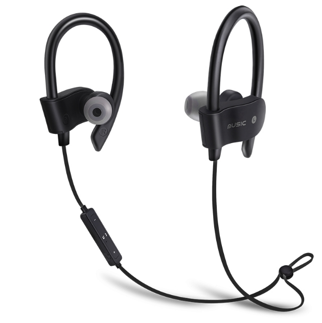 Hot Sports Running Wireless Headphones Bluetooth Earphone Auriculares Stereo Headset for Phone black