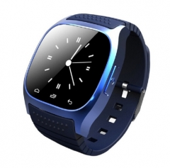 Bluetooth Wrist Smart Watch M26 Smartwatch Call Music Pedometer Fitness Tracker For Android blue one size