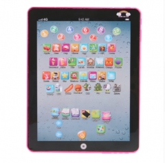 Kids' Tablet Children Computer Learning Education Machine Tablet Toy Gift For Kids Educational toys pink normal