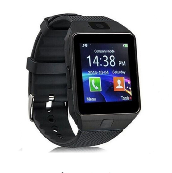 smart Watches DZ09 SIM/TF Bluetooth Sport Pedometer WristWatch For Android phone Infinix /Cubot black one size