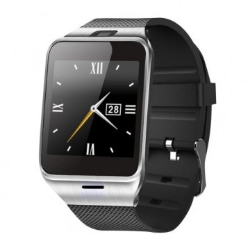 smart Watches DZ09 SIM/TF Bluetooth Sport Pedometer WristWatch For Android phone Infinix /Cubot silver one size