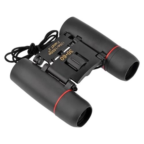 Outdoor Portable Travel Sakura Night Vision Mini 30x60 Binoculars Telescopes Black 6CM Black 6cm