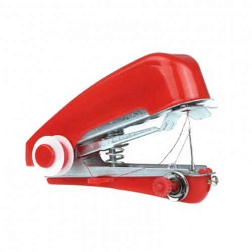 Altcut Mini Home Sewing Machine Manual Portable DIY Needlework Cordless Handheld Red red normal