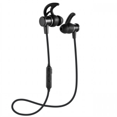 Super Bass Earphone with Microphone Sport Stereo In-ear Earbuds Music Noise Reduction for Gifts black
