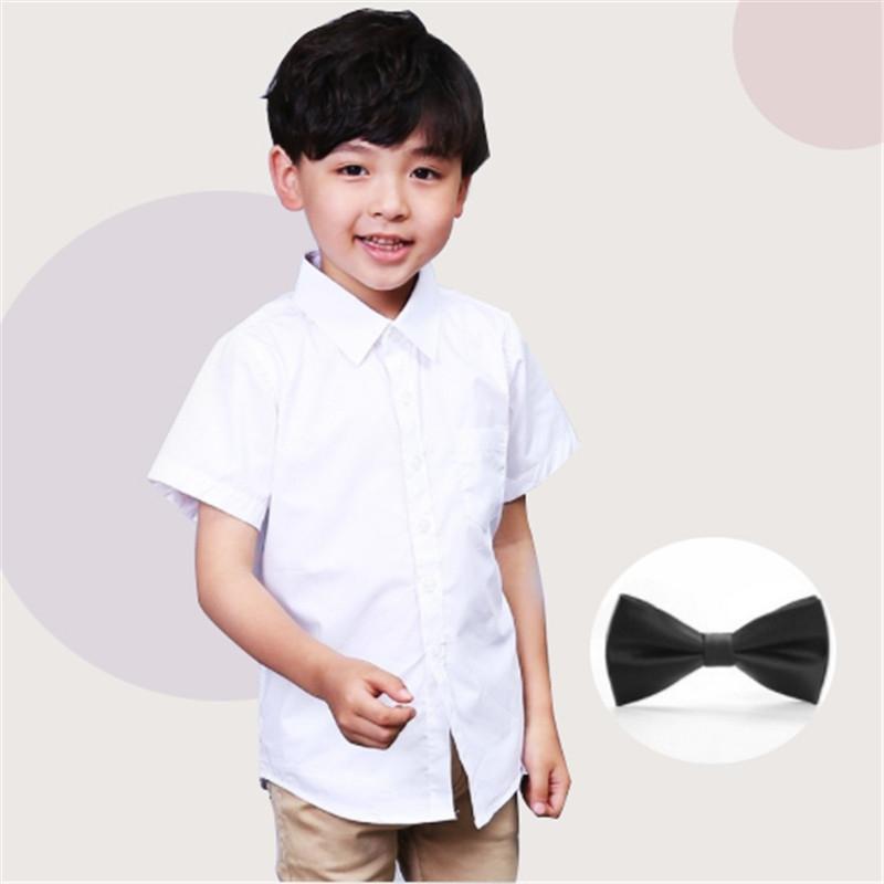 5da0b1b1fb3d Kilimall  New Arrival Summer Short Sleeve Baby Clothes White School ...