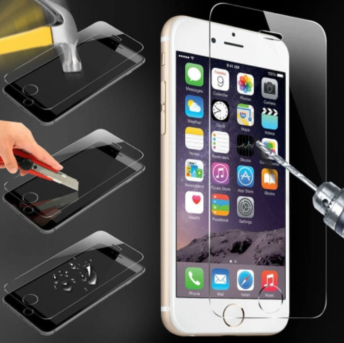 Iphone 5/5s/5c/ 6/6s/6 Plus Screen Protector Protective Guard Film Case Cover+Clean Kits transparent iphone 6 plus