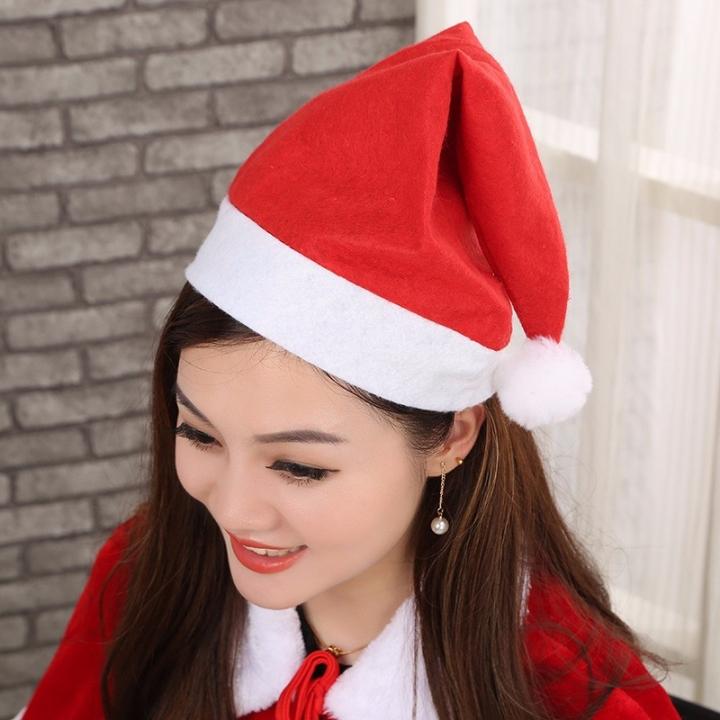 Christmas Ornaments Christmas Hats Santa Hats Children Women Men Boys Girls  Cap For Christmas Party red ad93768852