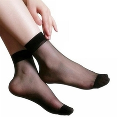 crystal socks black Normal