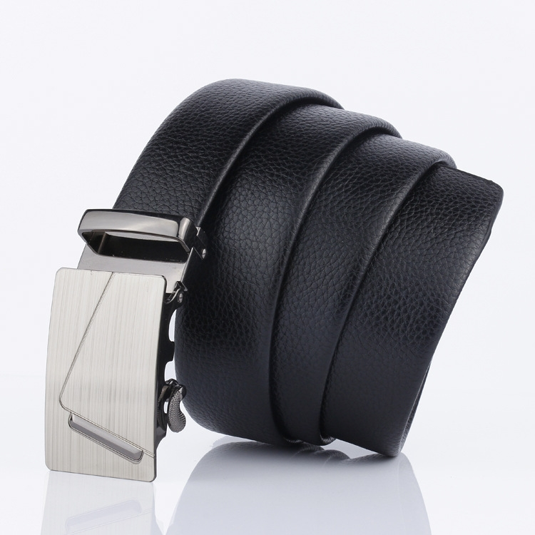 2019 Brand Men Fashion Business Belts Genuine Leather Strap Male Belt Jeans Automatic Buckle Belt BUCKLE DESIGN 3 Normal 19