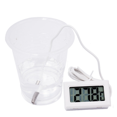 Digital Thermometer Fridge Freezer Temperature Meter 26% off WHITE