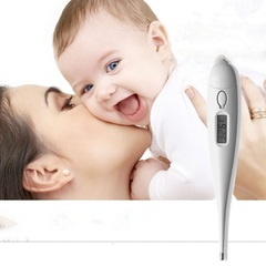 Waterproof Digital baby thermometer Child Adult Body Digital LCD Thermometer Temperature Measurement white normal