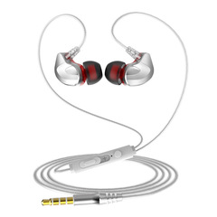 Headphones Music Earbuds Stereo Gaming Earphone for Phones Iphone Huawei Infinix with Microphone SILVER