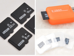 Micro SD Card Memory Card 4G 16GB MicroSD Max 80M/s Uitra C10 TF Card black as the description 4G Normal