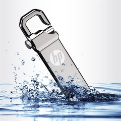 HP V250W USB Flash Drive 16GB 32GB Metal Waterproof flashdisk Flash Disk Sliver silver normal 16G