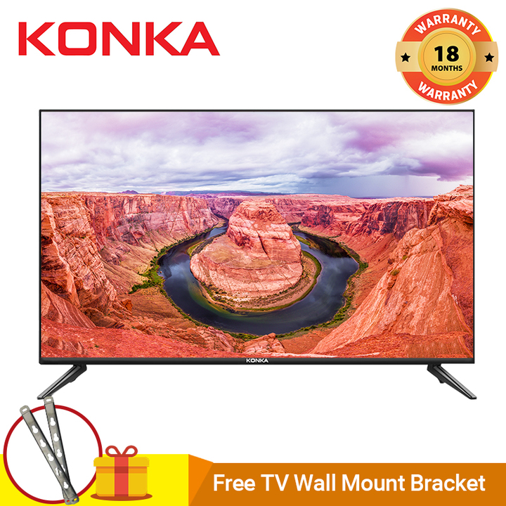 "KONKA KDE32ML311ATS 32"" HD Digital LED TV 32 INCH TELEVISION black 32"