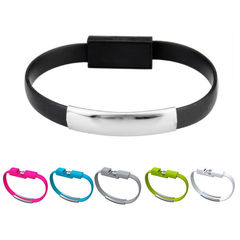 Christmas Gift Hot Bracelet Micro USB Cable Wire Sync Data Charger for Android Iphone Type C Phones black Iphone ports