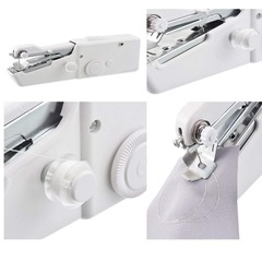Mini Portable Handheld sewing machines Stitch Sew needlework Cordless Electric Sewing Stitch Set