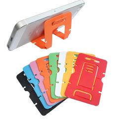 Portable Mini Mobile Phone Holder 3 Degrees Adjustable Universal Foldable Desk Stand Holder random 89*53mm