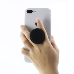 Collapsible Portable Grip Stand Popsocket for Phones and Tablets black one size