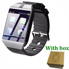 Touch Screen Smart Watch DZ09 With Camera Bluetooth WristWatch SIM Card Smartwatch For Smart Phones silver one size