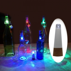 3 Pack Cork Shaped Rechargeable USB LED Bottle Light for Party As Picture Show One Size