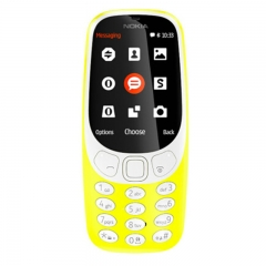 New Inspired Nokia 3310 Classic 2017 Edition Dual Sim Unlocked Cell Mobile Phone Yellow