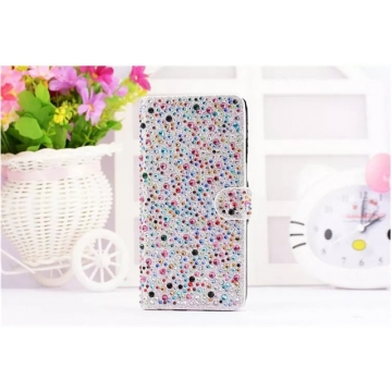 (Silver in Stock) Valentines Gift Women Phone Case Covers Flip Stand Wallet for iphone 7 plus silver 7+