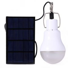 S-1200 130LM Portable Led Bulb Light Charged Solar Energy Lamp white 12.00 x 6x6 1.2w