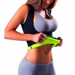 Usexy Slimming Neoprene Slimming Body Shaper Tops Chest Abdomen Weight Loss Vest black m