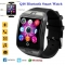 Bluetooth Q18 Fitness Tracker Smart Watch Smartwatch Relogio Watch Camera black one size
