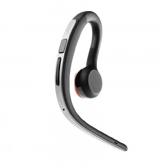 Wireless Cordless Bluetooth Headset with Mic for Drivers Sliver Gold Earphones for Jabra earphone As shown