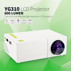 Mini Portable Pocket Projector YG310 for iPhone Android Smartphone HDMI Devices as shown one size