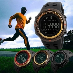 New Waterproof Sport Wristwatch Bluetooth Smart Watch Phone Mate For Android IOS black one size