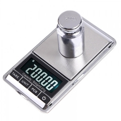 500g/0.01g Electronic Scale Precision Portable Pocket LCD Digital Jewelry Scales As shown 500g/0.01g