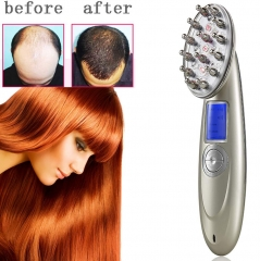 Laser Comb Hair Loss Treatment Brush Hair Growth Comb Therapy Vibration Massage Hair Loss as shown one size