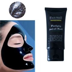 3PC 50ml Blackhead Remover Deep Cleansing Purifying Peel Off Acne Black Mud Face Mask as shown