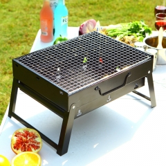 Outdoor cooking BBQ Foldable Portable bbq grill BBQ Barbecues tools set charcoal oven