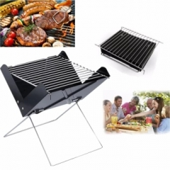 Outdoor Foldable Camping BBQ Portable Cooking Ultralight Oven Rack Tools