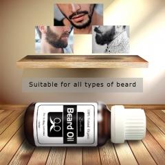 Hair and Beard growth oil Men beard grooming products 100%natural accelerate facial hair grow as shown