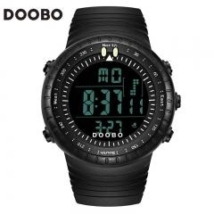 DOOBO Mens Watches Sport Army Outdoor 30m Waterproof Digital Watch black