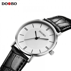 DOOBO Casual Men Watch Brand Quartz Wristwatch Business Analog Quartz-Watch Luxury Men black one size