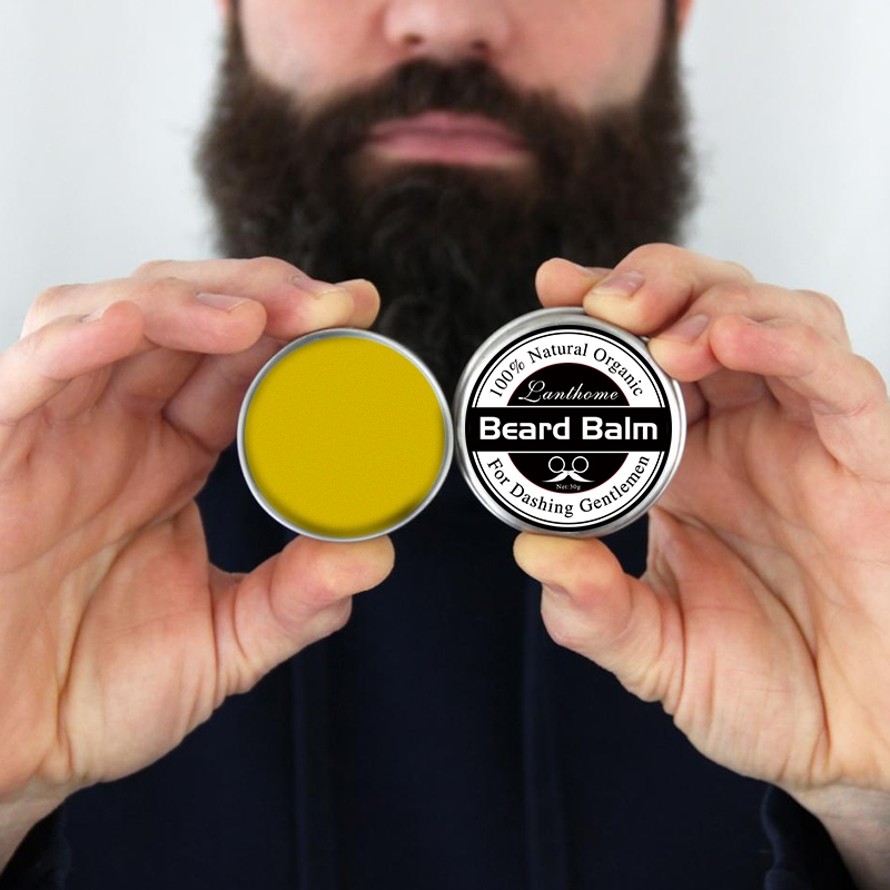 Lanthome Beard Oil And Balm Moustache Wax Beard Grooming Conditioner