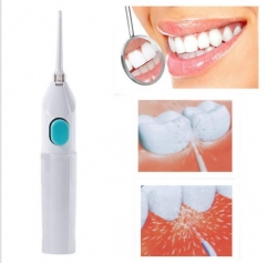 Floss Dental Water Jet Cords Tooth Pick No Batteries Dental Cleaning Whitening Teeth Kit as shown