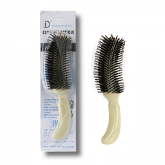 Hair Comb Detangling Handle Shower Hair Brush Bridal Comb Wedding Care Styling Hairdressing As shown one size