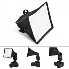 Portable Multifunctional Soft Box Kit Mini Softbox For Flash Gun Speedlight 15*17cm as shown one size